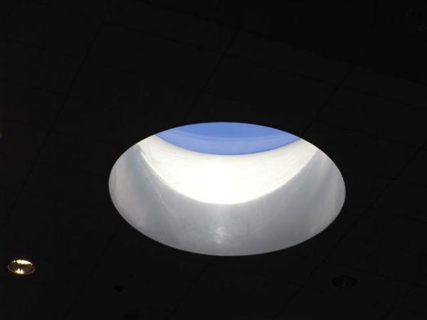 Lysninger til ovenlys i glasfiber