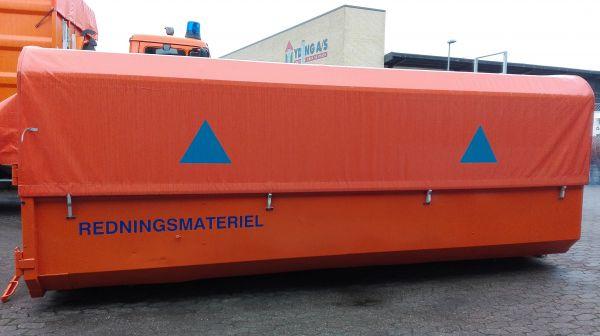 Materiel container